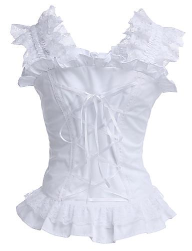 9a97d229580 Κλασσική / Παραδοσιακή Lolita Βαμβάκι Κορσές Cosplay Μακρυμάνικο Κοστούμια