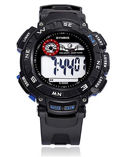 Pánské Módní hodinky Digitální hodinky Digitální Silikon Kapela Černá Modrá