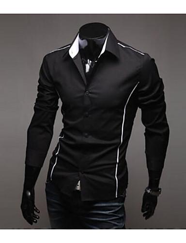6f389f59703 levne Pánské košile-Pánské - Jednobarevné Práce Business Košile