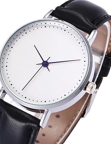 Pánské Náramkové hodinky Módní hodinky Hodinky na běžné nošení čínština Křemenný PU Kapela Na běžné nošení Cool Černá Hnědá