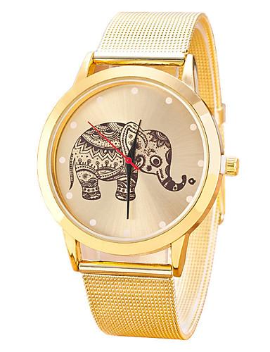 Dámské Náramkové hodinky Módní hodinky Hodinky na běžné nošení čínština Křemenný Slitina Kapela Na běžné nošení Cool Černá Stříbro