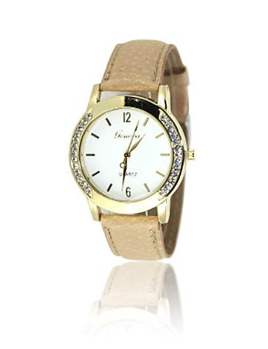 Dámské Módní hodinky Křemenný PU Kapela Bílá Zelená Fialová