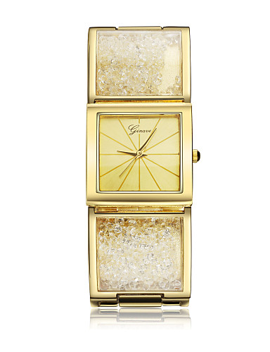Dámské Náramkové hodinky Křemenný imitace Diamond Pozlaceno 18k Kapela Náramek Zlatá