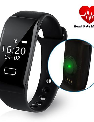 Homens Relógio de Moda / Relógio Elegante / Relógio inteligente Chinês Monitor de Batimento Cardíaco / Impermeável / Criativo Silicone Banda Amuleto Cores Múltiplas / Pedômetros