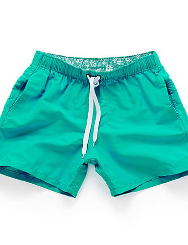 Men's Active Relaxed / Shorts Pants - Solid Colored / Sports