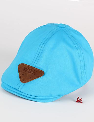 Kinder Hüte & Kappen Ganzjährig 100% Baumwolle Blau Marineblau Gelb Khaki