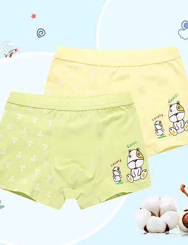 Chlapecké Proužky Tisk Bavlna Spodní prádlo a ponožky