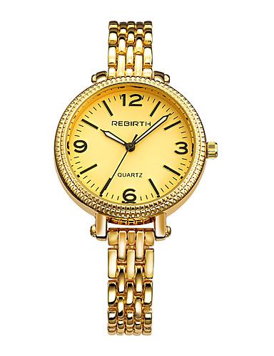 REBIRTH Mulheres Relógio de Pulso Chinês Venda imperdível Lega Banda Amuleto / Fashion Prata / Dourada