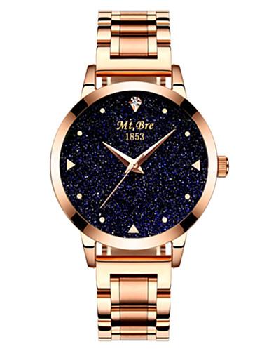 Dámské Módní hodinky Křemenný Voděodolné Slitina Kapela Stříbro Zlatá Růžové zlato