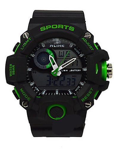 Pánské Sportovní hodinky Digitální hodinky Křemenný Pryž Kapela Černá