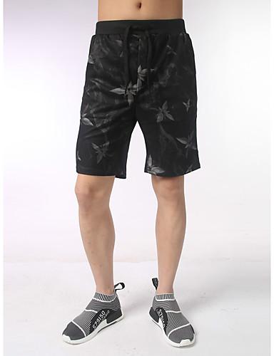 Pánské Na běžné nošení Aktivní Větší velikosti Volné Kalhoty chinos Kalhoty Zvíře