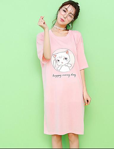 Dámské Bavlna Pyžama