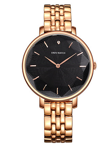 Women's Fashion Watch Japanese Quartz Water Resistant / Water Proof Alloy Band Gold