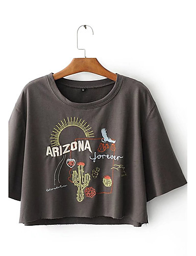 Women's Sports Daily Casual Active Summer Fall T-shirt