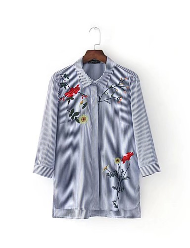 Women's Going out Daily Casual Summer Fall Shirt