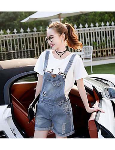 Women's High Waist Inelastic Overalls Pants,Chinoiserie Slim Pure Color Solid