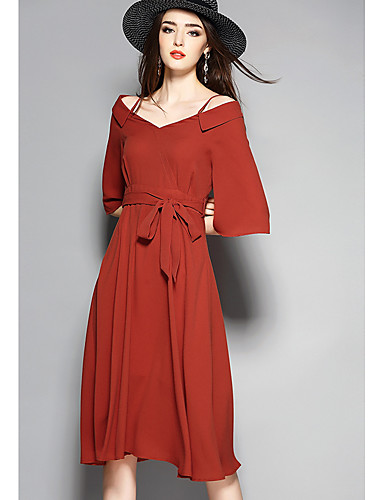 Women's Going out Casual Cute A Line Dress