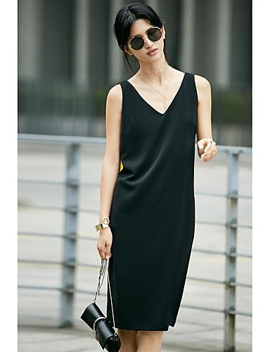 35ef48c08b23 Γυναικείο Καθημερινά Φαρδιά Little Black Φόρεμα
