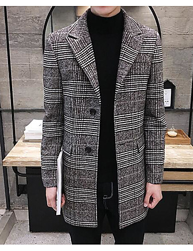 Men's Daily Casual Fall Winter Coat
