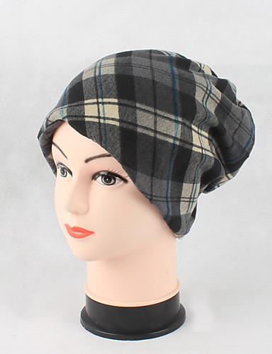 Women's Cute Casual Cotton Beanie/Slouchy Floppy Hat Print Knitting