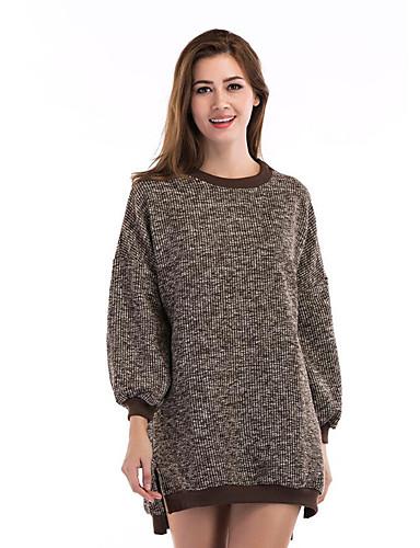 Women's Daily Street chic Regular Pullover