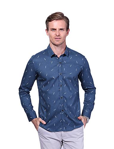 Men's Casual Cotton Shirt Print