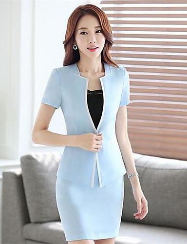 Women's Work Casual Summer Suit