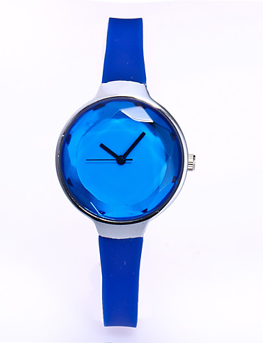 Women's Wrist watch Quartz Leather Band Casual Black White Blue Red Pink
