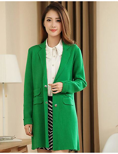 Women's Daily Casual Fall Winter Trench Coat