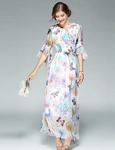 Women's Going out Daily Street chic Swing Dress