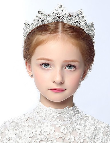 Girls Hair Accessories,All Seasons Alloy Silver