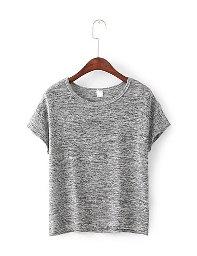 Women's Going out Daily Sexy Casual Street chic Summer T-shirt