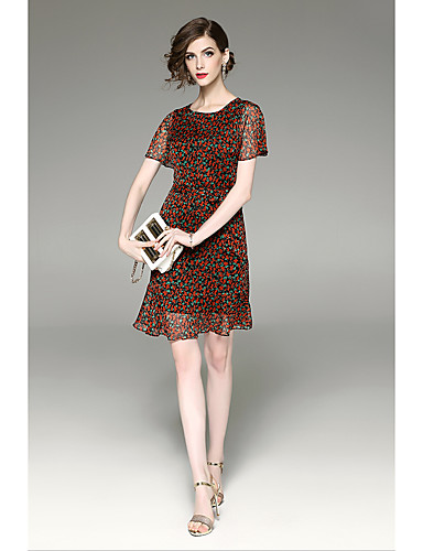 Women's Holiday Going out Daily Sophisticated Sheath Dress