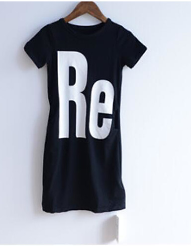 Girls' Others Color Block Tee,Others Fall Short Sleeve