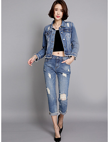 Women's Daily Casual Spring Denim Jacket