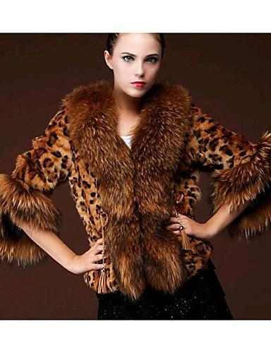 Women's Daily Casual Winter Fur Coat
