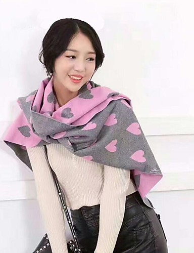 Women's Imitation Cashmere Infinity Scarf Jacquard Winter Fall/Autumn