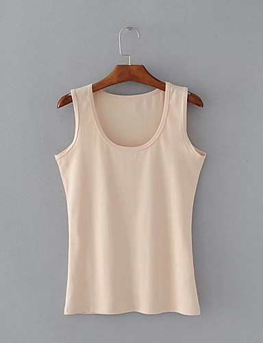 Women's Going out Daily Casual Regular Vest