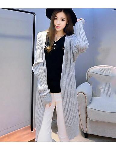 Women's Daily Cute Long Cardigan