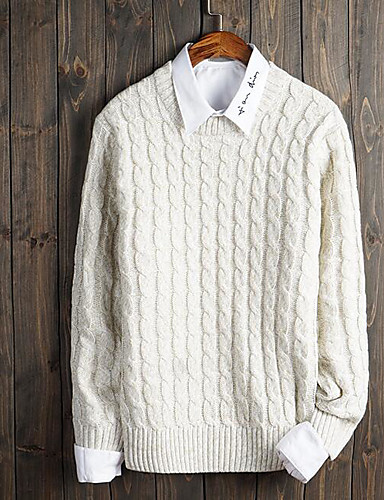 Men's Daily Casual Casual Regular Pullover