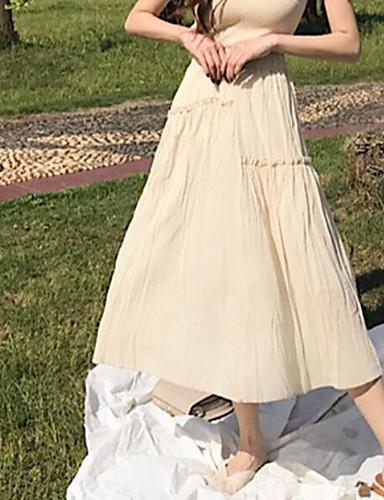 Damen Ausgehen Schaukel Röcke - Solide