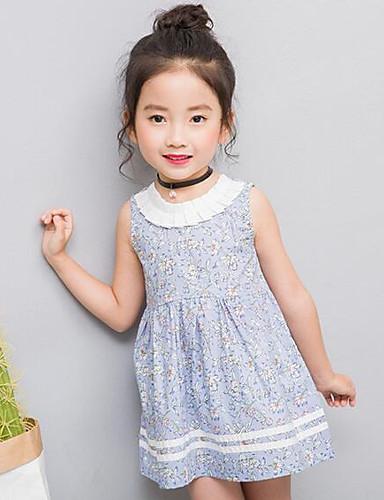 Mädchen Kleid Geometrisch Andere Lange Ärmel