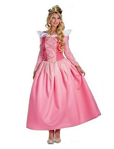 7daf92af20 Queen Princess Peach Vestidos Disfrace de Cosplay Baile de Máscaras Mujer  Amaloli Princesa Halloween Carnaval Festival   Celebración Elastán Tactel  Rosa ...