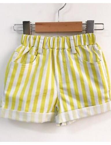 Mädchen Shorts Streifen Baumwolle Frühling Sommer