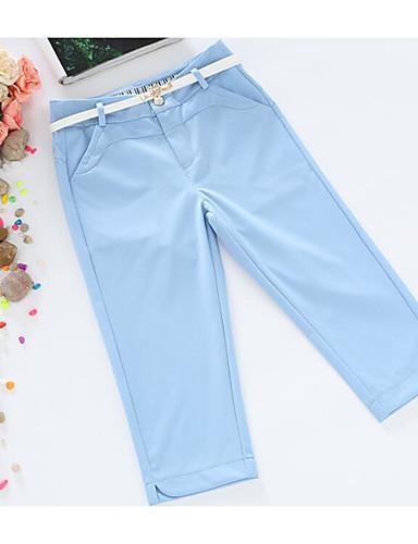 Damen Aktiv Mittlere Hüfthöhe Mikro-elastisch Gerade Kurze Hosen Hose Sommer Solide