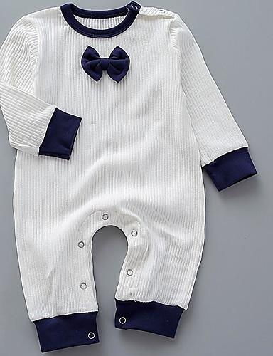 Baby Einzelteil Volltonfarbe Baumwolle Winter Frühling/Herbst Braun Marineblau
