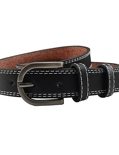 Women's Dress Belt Alloy Wide Belt - Solid Colored Fashion