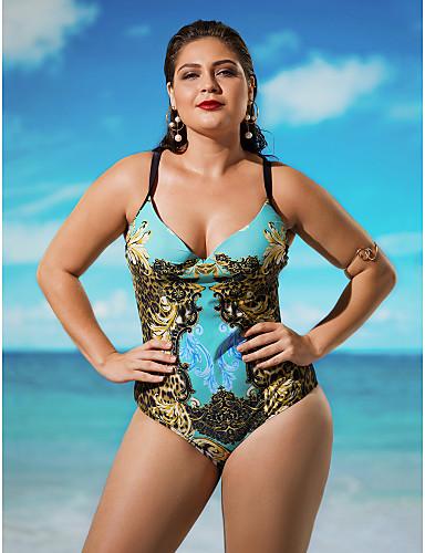 Damen Bikinis / Einteiler - Boho Nylon / Elasthan Halfter