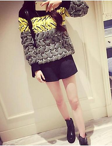 Damen Langarm Pullover-Einfarbig