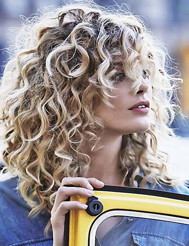 abordables Perruques Naturelles Dentelle-Perruque Cheveux Naturel humain Lace Frontale Sans Colle Lace Frontale Cheveux Brésiliens Bouclé Ondulation naturelle Kinky Curly Bob Coupe Carré Femme Densité 130% avec des cheveux de bébé Perruque